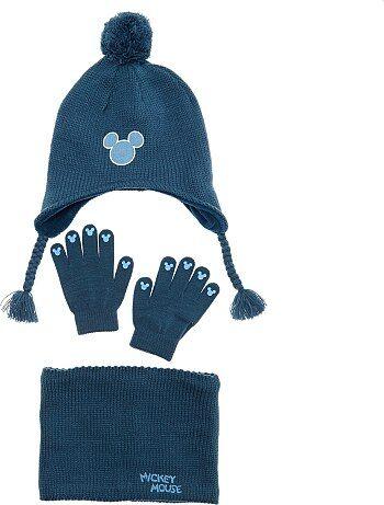 Setje met muts, snood en handschoenen van 'Mickey' - Kiabi