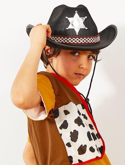 Sheriffhoed voor kinderen                                         zwart