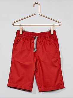 Jongenskleding 3-12 jaar - Short van twillkatoen - Kiabi