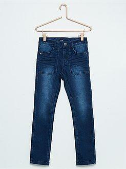 Kinder broeken - Skinny broek van stretch katoen
