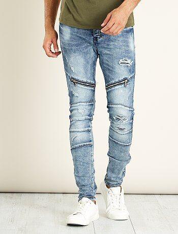 Skinny destroyed jeans - Kiabi