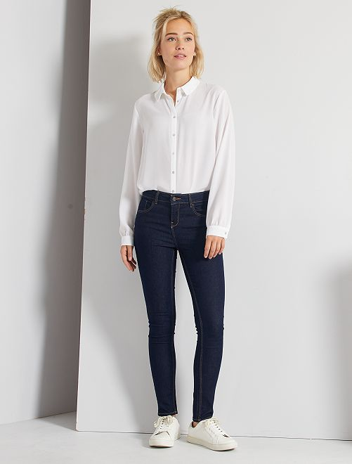 Skinny-fit jeans 'Ecodesign'                                                                                         donkerblauw