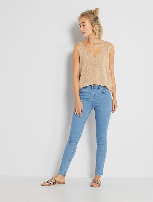 Skinny-fit jeans 'Ecodesign'                                                                                         dubbele steen
