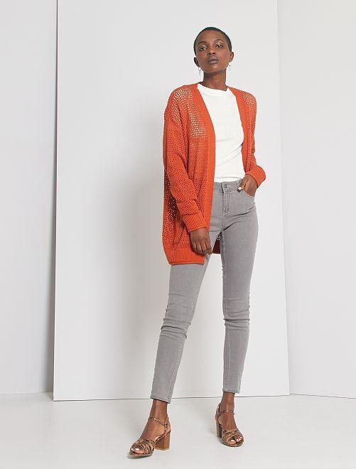 Skinny-fit jeans 'Ecodesign'                                                                                         grijs