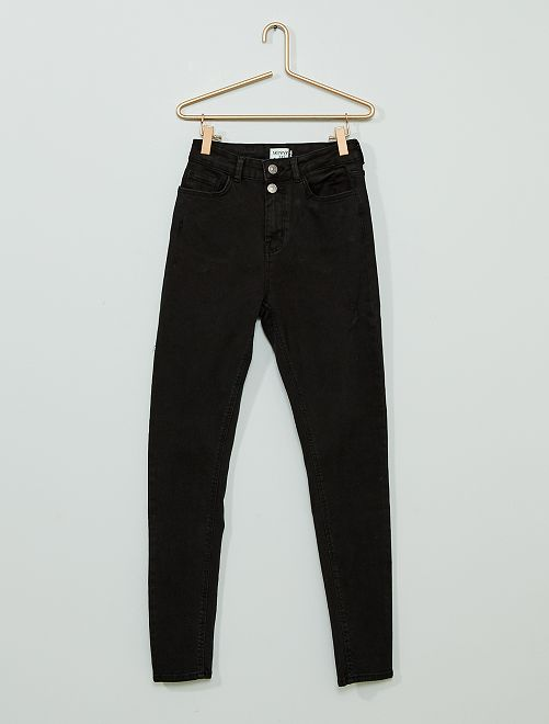 Skinny jeans 'Ecodesign'                                         ZWART
