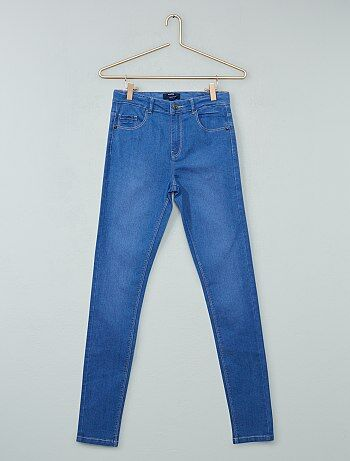Skinny jeans met een hoge taille - Kiabi