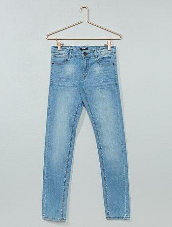 Skinny jeans met geplooid effect - Kiabi