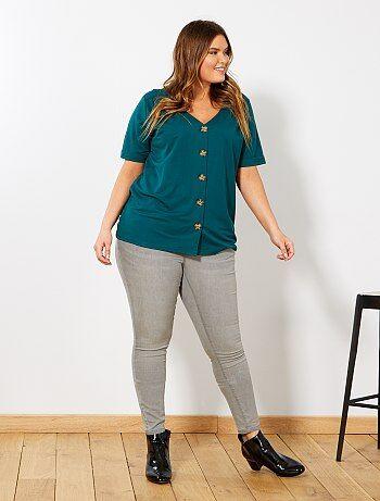 Skinny jeans met push-up-effect - Kiabi