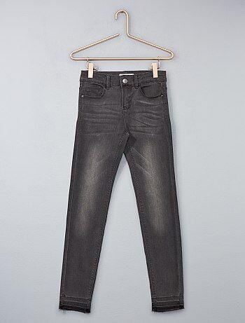 Skinny jeans met versleten effect - Kiabi