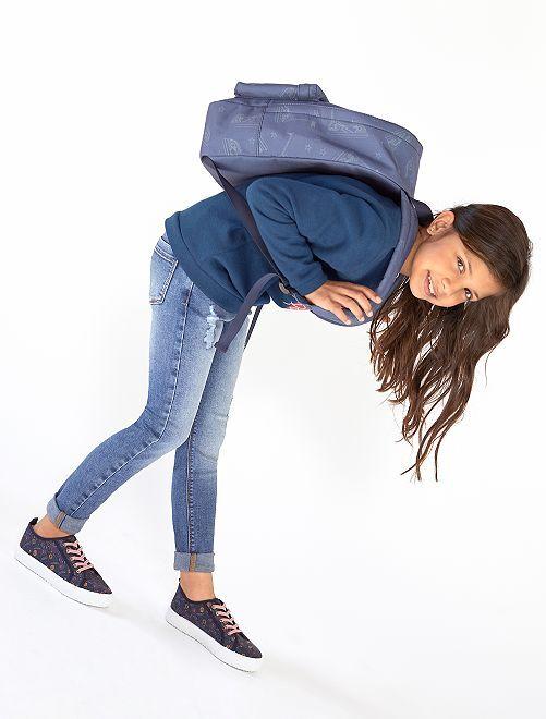 Skinny jeans van stretch denim                                                     BLAUW Kinderkleding meisjes