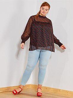 Jeans - Skinny jegging van stretch denim - Kiabi