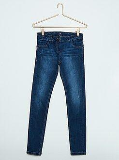 Meisjes jeans - Skinny push-up jeans