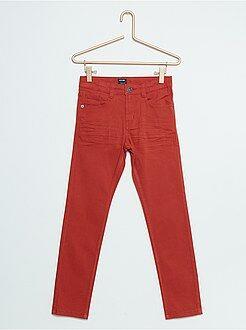 Jongenskleding 3-12 jaar - Skinnybroek met vijf zakken - Kiabi