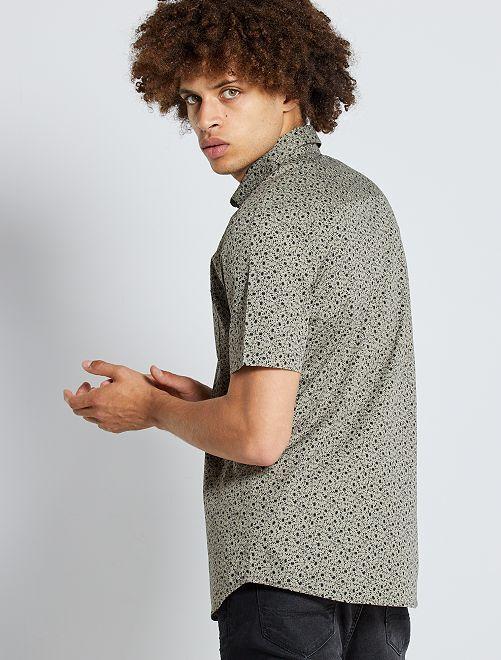 Slim-fit hemd                                                                                                     KAKI