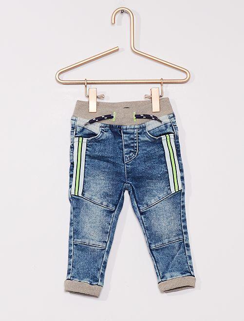 Slim-fit jeans                             denim