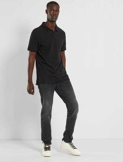 Slim-fit jeans L32 'Ecodesign'                                                                 donkergrijs