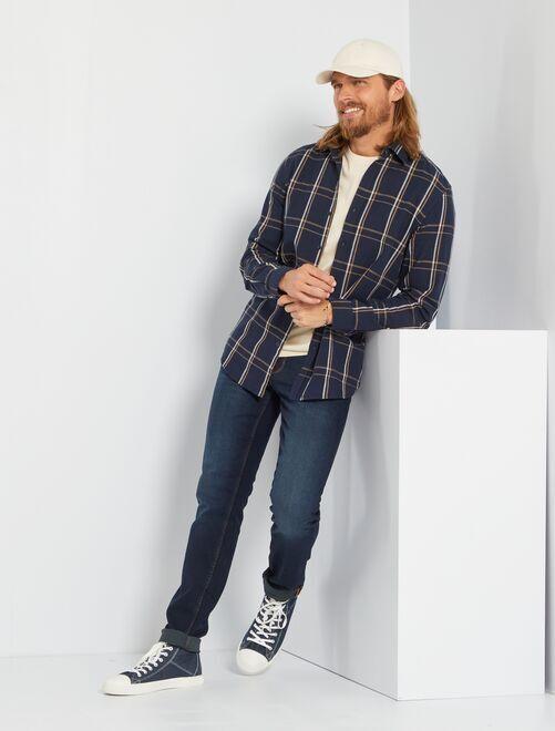 Slim-fit jeans L34 'Ecodesign'                                                                             indigo
