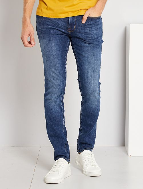Slim-fit jeans L34 'Ecodesign'                                                                             raw denim