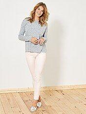 Slimfit 5-pocket stretch broek