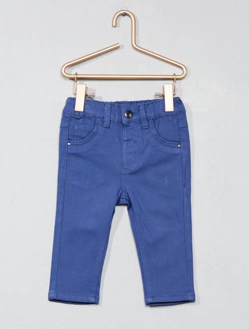 Slimfit broek blauw Jongens babykleding