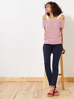 Damesmode maat 34-48 Slimfit broek
