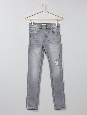 Slimfit destroy jeans - Kiabi