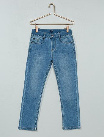 Slimfit geplooide jeans - Kiabi