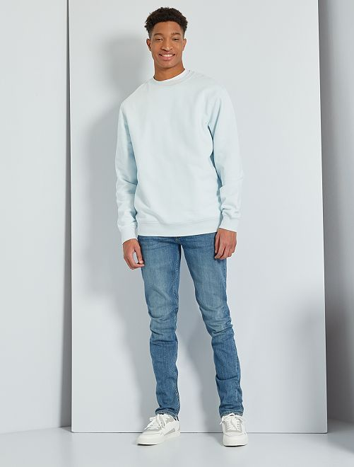 Slimfit jeans lengtemaat 38 1,90 m+                                                     BLAUW