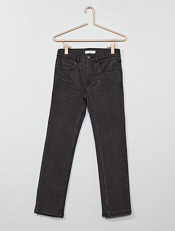 Slimfit jeans met plooitjes - Kiabi