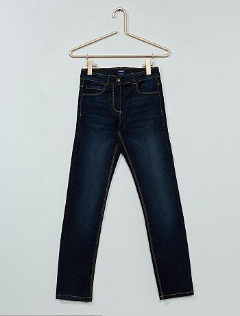 Slimfit jeans met versleten effect - Kiabi