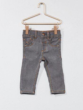 Slimfit jeans met verstelbare taille - Kiabi