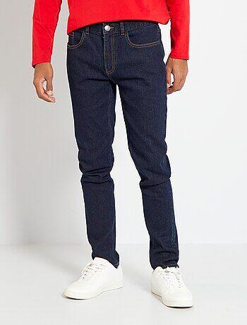 Slimfit jeans van stretch katoen - Kiabi