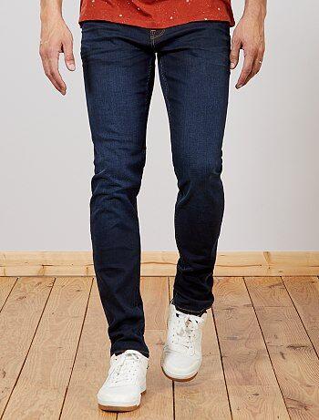 Slimfit jeans van stretch katoen L36 1,90 m+ - Kiabi