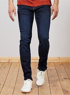 Heren tall (> 190cm) - Slimfit jeans van stretch katoen L36 1,90 m+ - Kiabi