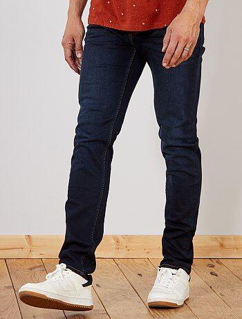 Slimfit jeans van stretch katoen L38 1,90 m+ - Kiabi