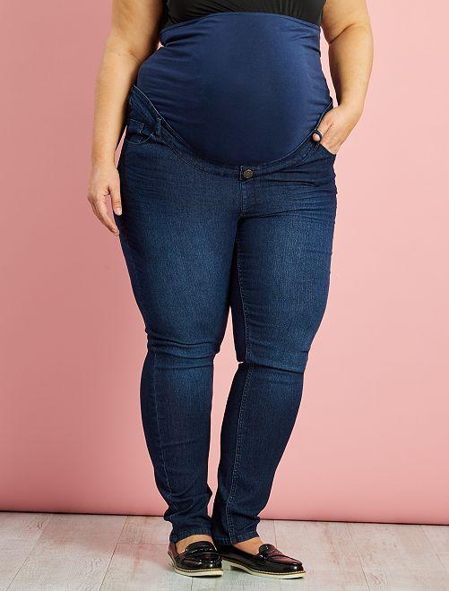 Slimfit positiejeans                             groen Zwangerschapskleding