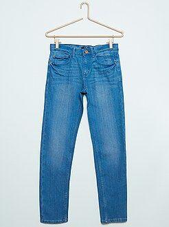 Jongens jeans - Slimfit relax jeans van stretch denim