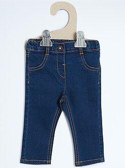 Broek, jeans - Slimfit stretch denim jeans