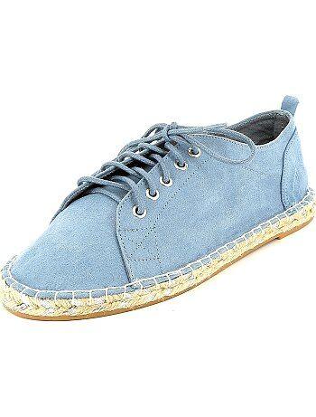 Sneakers in espadrillestijl - Kiabi