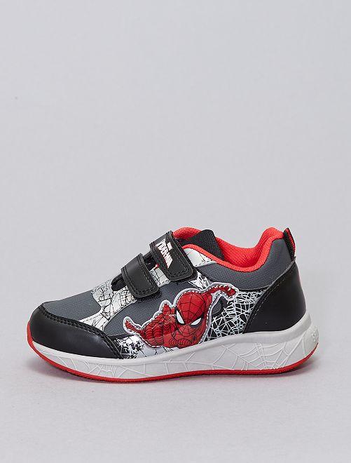 Sneakers met klittenbanden 'Spider-Man'                             zwart