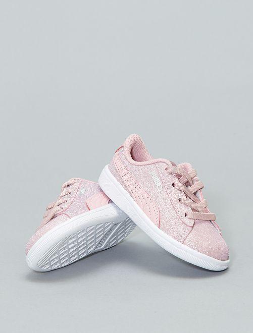 Sneakers met pailletten van 'Puma'                             ZWART Schoenen