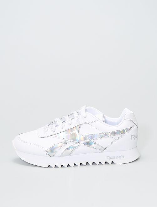 Sneakers met platformzool 'Reebok Royal Cl 2'                             WIT