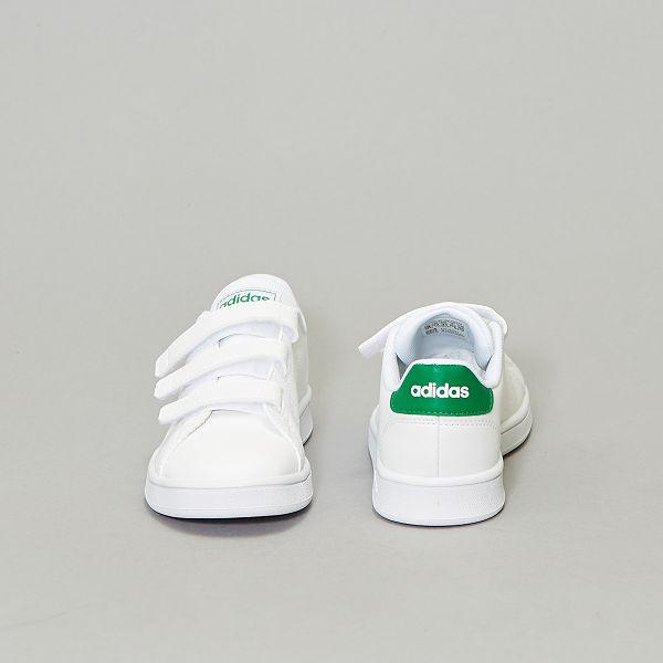 Sneakers van 'Adidas Advantage C' met klittenband