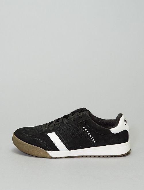 Sneakers van corduroy 'Skechers Heritage'                             zwart