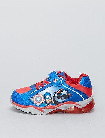 Sneakers van imitatieleer van 'Captain America' van 'Marvel' - Kiabi