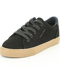 Kinderschoenen - Sneakers van suèdine