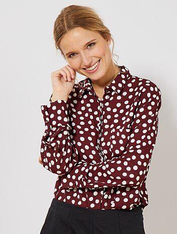 Soepel vallende blouse - Kiabi