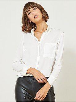 Soepel vallende blouse