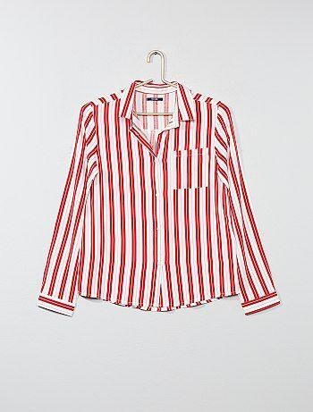 Soepele blouse met motiefjes - Kiabi