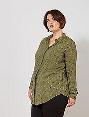 Soepele blouse met print